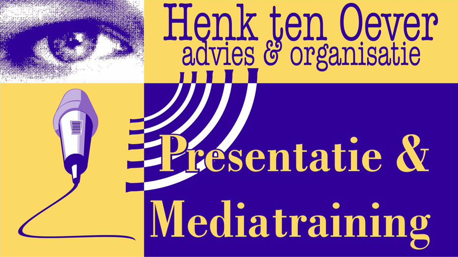 Henk ten Oever Logo Mediatraining