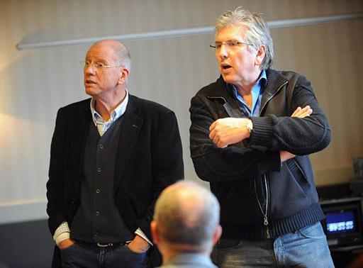 Henk ten Oever en Felix Meurders