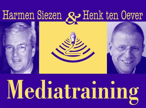 Henk ten Oever Mediatraining Harmen Siezen