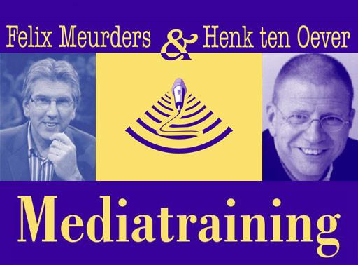 Henk ten Oever Mediatraining Felix Meurders
